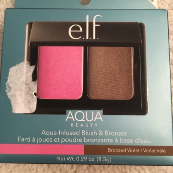 ELF Other - Elf aqua blush and bronzer brand new in box